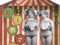 Vintage Circus Girls